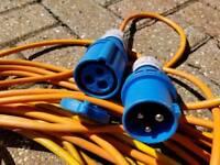 25m Length Caravan Camping Motorhome Hook Up Cable