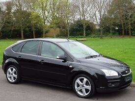 2007 Ford Focus 1.8 TDCi Ghia 5dr - DIESEL - FULL HEATED LEATHER - PRIVACY GLASS
