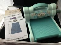 Sizzix Big Shot Die Cutting and Embossing Machine with dies- preloved
