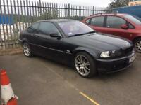 LHD BMW coupe UK registered