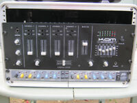 KAM 4 channel DJ rack MIXER for disco party dj
