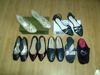 Ladies shoes nearly new sizes 6/7