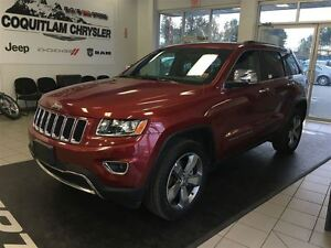 2015 Jeep Grand Cherokee Limited Leather Sunroof Nav