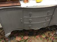 Beautiful sideboard dove grey stunning