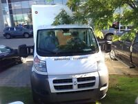 2014 Ram ProMaster 2500 ***CAB & CHASSIS***UNICEL CUBE BODY***3.