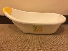 New baby bath