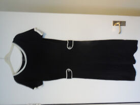 Smart Mango knitted black and white dress, Size 8/Small, perfect condition, offers accepted