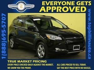 2014 Ford Escape 4WD Navigation, Leather, Power Tailgate