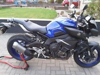 Yamaha MT10 - Racing Blue - 572 miles only