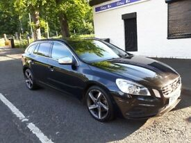 2012 Volvo V60, 1.6d, Drive, R-Design, Start/Stop, £30 Road Tax, LOVELY EXAMPLE