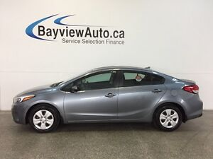 2017 Kia FORTE - AUTO! 2.0L! A/C! BLUETOOTH! LOW KM!