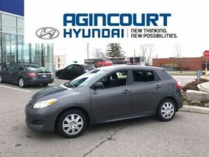 2014 Toyota Matrix AUTO/BLUETOOTH/ONLY 57898KMS!!