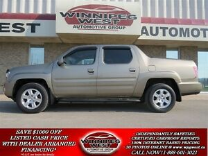 2010 Honda Ridgeline VP EDITION 4X4, LOADED, LOW KMS, WESTERN CA