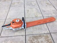 """Stihl HS 46 C hedge trimmer / cutter, 22"""" double blades"""
