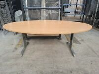 Oval Shape Conference, Boardroom, Meeting Table