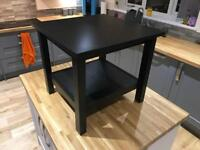 Ikea hemnes black-brown coffee table