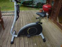 Excercise Bike - Infiniti JT750 Magnatec Home Trainer. - Little Used