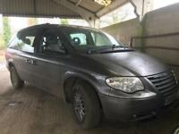 2006 Chrysler grand voyager spares or repair