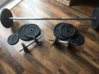 Barbell and Dumbells