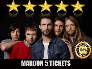 Discounted Maroon 5 Tickets | Last Minute Delivery Guaranteed!