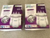 New Baby Avent Natural Bottles