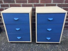 X2 matching bedside cabinets
