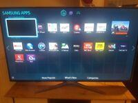55 INCH SAMSUNG FLATSCREEN SMART TV FULL HD SAMSUNG