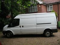 ford transit long wheel base van 2010 reg excelent running order any inspection £3750 o.n.o.