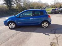 2011 RENAULT CLIO GT LINE 1.2 TURBO , 1 YEAR MOT , SERVICE HISTORY, LOW MILEAGE