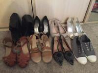 Shoe Bundle - Size 7 (8 pairs)