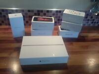 Apple iPhone and iPad boxes