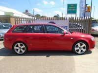 AUDI A4 AVANT 2.0 TDI S Line 5dr (red) 2006