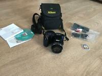 NIKON COOLPIX L810 DIGITAL CAMERA - BLUE