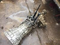 2003 Nissan navara / d22 4x4 gearbox with transfer box - can post