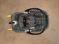 Mamas and papas baby car seat with mamas and papas isofix base