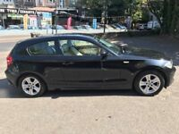 AX07KFO 2007 black BMW 1 SERIES diesel 120k 1 year mot