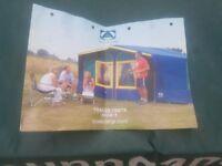 Sunncamp 6 birth trailer tent