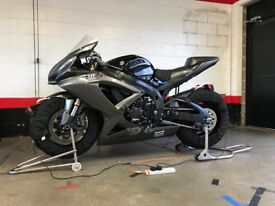 Race Suzuki GSX-R 600 2008 Track Bike MSG Racing