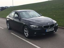 2013 BMW 3 SERIES 320d EfficientDynamics 4dr 2.0 diesel saloon black **one owner**satnav not a4 a6