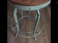 American factory stool