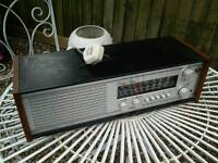 Vintage roberts rm 40 radio working needs attention man cave