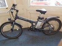 "Byocycle Boxer 24"" Electric Folding Mountain Bike for £ 600"