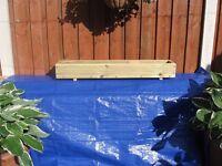 Garden decking planters,herb troughs, window box.