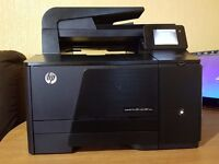 High Spec HP LaserJet Pro 200 Color M276nw All-in-One Printer,Touch screen Display,Professional