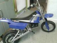 Kids razer electric motobike