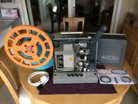 Bell & Howell TQ1 658 16mm Sound Projector - Fully Serviced - Working Animation