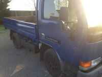 nissan cabstar 2000 w nice condition spares or repair