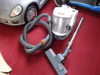 small white vax hoover in working order