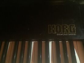 Korg SG-1D Sampling Grand electric midi piano popularised by the Who and Rolling Stones.