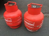 2 x 3.9kg Calor Gas propane bottle empty ready for refill